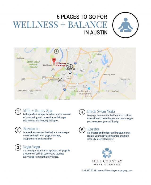 5 Places to go for Wellness + Balance in Austin